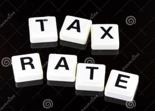 Tax Rate Graphic